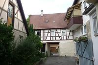 Westseite / Wohnhaus in 74354 Besigheim (15.09.2016 - M.Haußmann)
