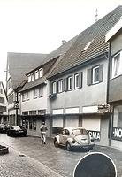 um 1970 / Wohn- und Geschäftshaus in 74354 Besigheim (Stadtarchiv Besigheim)
