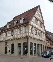 Nordostseite / Wohn- und Geschäftshaus in 74354 Besigheim (15.09.2016 - M.Haußmann)