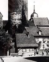 Ansicht von Süden / Abgegangenes Wohnhaus in 74354 Besigheim (Stadtarchiv Besigheim)