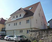 """Nordseite nach der Sanierung """"Im Schlosshof"""" / Wohnhaus in 74354 Besigheim (23.09.2016 - M.Haußmann)"""