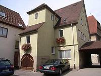Vor der Sanierung (Kirchstaraße 53) / Wohnhaus in 74354 Besigheim (Denkmalpflegerischer Werteplan,  Gesamtanlage Besigheim  Regierungspräsidium Stuttgart)
