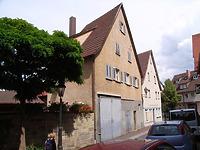 ehemaliges Gebäude Kirchstraße 57, Nordwestseite / Weingärtnerhaus, abgegangen in 74354 Besigheim (Denkmalpflegerischer Werteplan,  Gesamtanlage Besigheim  Regierungspräsidium Stuttgart)