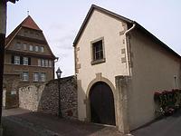 Süswestseite / Magazin, Wirtschaftsgebäude in 74354 Besigheim (Denkmalpflegerischer Werteplan,  Gesamtanlage Besigheim  Regierungspräsidium Stuttgart)