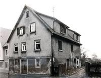 Südwestseite 1982 / Abgebrochenes Wohnhaus in 74354 Besigheim (Stadtarchiv Besigheim)