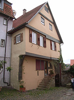 Naordwesteite / Wohnhaus in 74354 Besigheim (Denkmalpflegerischer Werteplan,  Gesamtanlage Besigheim  Regierungspräsidium Stuttgart)