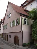 Ansicht von Süden / Wohnhaus in 74354 Besigheim (Denkmalpflegerischer Werteplan, Gesamtanlage Besigheim, Regierungspräsidium Stuttgart)