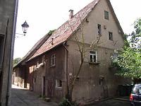 Ansicht von Norden / Wohnhaus, vormals Armenhaus in 74354 Besigheim (Denkmalpflegerischer Werteplan, Gesamtanlage Besigheim, Regierungspräsidium Stuttgart)