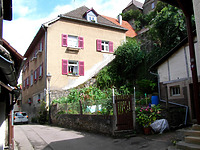 Ansicht von Süden / Wohnhaus, vormals Scheunen in 74354 Besigheim (12.07.2007)