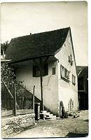 Ansicht von Süden / Wohnhaus, vormals Ziegelhütte in 74354 Besigheim (Stadtarchiv Besigheim)
