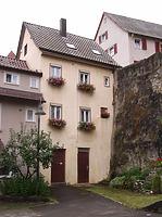 Nordseite / Wohnhaus in 74354 Besigheim (2007 - Denkmalpflegerischer Werteplan,  Gesamtanlage Besigheim  Regierungspräsidium Stuttgart)