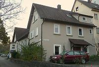 Nordseite Gebäude Oberamtdeigasse 6 mit Saalanbau  / Kirchliches Gemeindehaus in 74354 Besigheim (2016 - M.Haußmann)