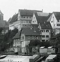 Gebäude Oberamtdeigasse 6 mit Saalanbau  um 1905 / Kirchliches Gemeindehaus in 74354 Besigheim (Stadtarchiv Besigheim)