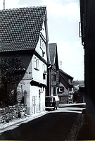Ansicht von Südwest / Wohnhaus in 74354 Besigheim (Stadtarchiv Besigheim)