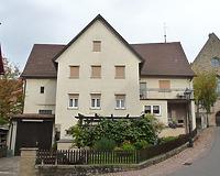 Ansicht von Südwest / Wohnhaus in 74354 Besigheim (04.11.2016 - M. Haußmann)