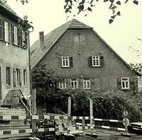 Ansicht von Osten / Wohnhaus, Neubau in 74354 Besigheim (Stadtarchiv Besigheim)
