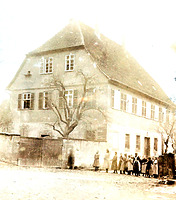 Ansicht von Norden / Wohnhaus (ehem. Pfarrhaus) in 74354 Besigheim (ca. 1930 - Stadtarchiv Besigheim)