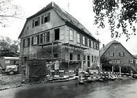 Ansicht von Norden, während des Umbaus 19xx / Wohnhaus (ehem. Pfarrhaus) in 74354 Besigheim