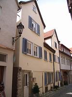 Südseite / Wohnhaus in 74354 Besigheim (2007 - Denkmalpflegerischer Werteplan,  Gesamtanlage Besigheim  Regierungspräsidium Stuttgart)