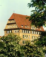 Südwestseite / Verwaltungsgebäude (ehem. Oberamt) in 74354 Besigheim (Stadtarchiv Besigheim)