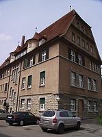 Südwestseite, Hofseite / Verwaltungsgebäude (ehem. Oberamt) in 74354 Besigheim (2007 - Denkmalpflegerischer Werteplan,  Gesamtanlage Besigheim  Regierungspräsidium Stuttgart)