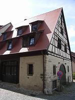 Südostseite / Wohnhaus (ehemalige Scheune) in 74354 Besigheim (2007 - Denkmalpflegerischer Werteplan,  Gesamtanlage Besigheim  Regierungspräsidium Stuttgart)