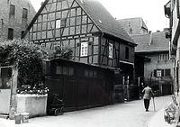 Nordseite um 1960 / Wohnhaus u. Scheuer in 74354 Besigheim (Stadtarchiv Besigheim)