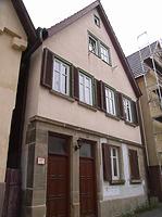 Nordwestseite / Wohnhaus in 74354 Besigheim (2007 - Denkmalpflegerischer Werteplan,  Gesamtanlage Besigheim  Regierungspräsidium Stuttgart)