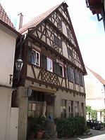 Ansicht von Südwest / Wohnhaus in 74354 Besigheim (2007 - Denkmalpflegerischer Werteplan, Gesamtanlage Besigheim, Regierungspräsidium Stuttgart)