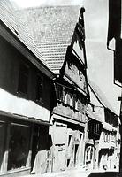 Historische Aufnahme, Ansicht von Südwest / Wohnhaus in 74354 Besigheim (Stadtarchiv Besigheim)
