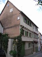Ansicht von Nordwest / Wohnhaus in 74354 Besigheim (Denkmalpflegerischer Werteplan, Gesamtanlage Besigheim, Regierungspräsidium Stuttgart)