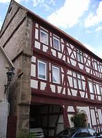 Ansicht von Süden / Wohnhaus (ehemalige Stadtschreiberei) in 74354 Besigheim (2007 - Denkmalpflegerischer Werteplan, Gesamtanlage Besigheim, Regierungspräsidium Stuttgart)