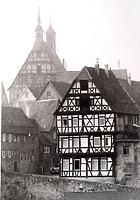Ansicht von Nordost (historische Aufnahme) / Wohnhaus (ehemalige Stadtschreiberei) in 74354 Besigheim (Stadtarchiv Besigheim)