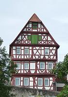 Ansicht von Nordost / Wohnhaus (ehemalige Stadtschreiberei) in 74354 Besigheim (2016 - M. Haußmann)