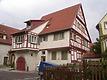 Südostseite / Wohnhaus in 74354 Besigheim (Denkmalpflegerischer Werteplan,  Gesamtanlage Besigheim  Regierungspräsidium Stuttgart)