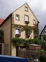 Südseite / Wohnhaus in 74354 Besigheim (Denkmalpflegerischer Werteplan,  Gesamtanlage Besigheim  Regierungspräsidium Stuttgart)