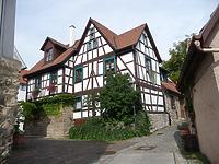 Südwestseite / Wohnhaus in 74354 Besigheim (2014 - M.Haußmann)