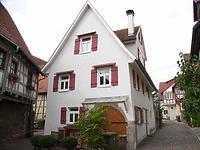 Ostseite / Wohnhaus in 74354 Besigheim (Denkmalpflegerischer Werteplan,  Gesamtanlage Besigheim  Regierungspräsidium Stuttgart)