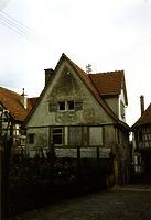 Westseite 1988 / Wohnhaus in 74354 Besigheim (1988 - Stadtarchiv Besigheim)