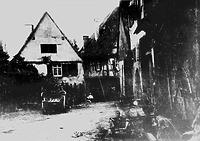 Westseite / Wohnhaus in 74354 Besigheim (um 1930 - Stadtarchiv Besigheim)