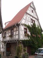 Nordwestseite / Wohnhaus in 74354 Besigheim (Denkmalpflegerischer Werteplan,  Gesamtanlage Besigheim  Regierungspräsidium Stuttgart)