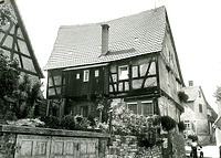 Ostseite / Wohnhaus in 74354 Besigheim (Stadtarchiv Besigheim)