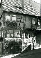 Nordwestseite / Wohnhaus in 74354 Besigheim (Stadtarchiv Besigheim)
