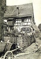 Ostseite um 1930 / Wohnhaus in 74354 Besigheim (Stadtarchiv Besigheim)