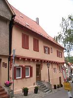 Nordseite / Wohnhaus in 74354 Besigheim (Denkmalpflegerischer Werteplan,  Gesamtanlage Besigheim  Regierungspräsidium Stuttgart)