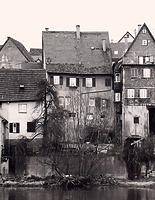 Westseite von der Enz aus / Wohnhaus in 74354 Besigheim (Stadtarchiv Besigheim)