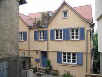 Nordostseite / Wohnhaus mit mittelaltericher Badstube in 74354 Besigheim (Denkmalpflegerischer Werteplan,  Gesamtanlage Besigheim  Regierungspräsidium Stuttgart)