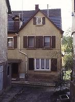 Nordostseite / Wohnhaus mit mittelaltericher Badstube in 74354 Besigheim (M.Haußmann)