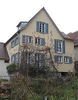 Südseite / Wohnhaus mit mittelaltericher Badstube in 74354 Besigheim (M.Haußmann)