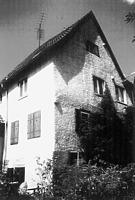 Südseite um 1960 / Wohnhaus mit mittelaltericher Badstube in 74354 Besigheim (Stadtarchiv Besigheim)